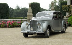 The Silver Baby Bentley 8