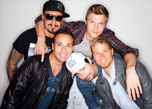 "Hire a Limo for the Backstreet Boys ""In A World Like This"" Tour concert at the O2 Dublin, 1st Apr 2014"