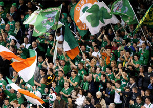 It's on! Republic of Ireland vs. Serbia in the Aviva Stadium on March 5th 2014 - Absolute Limos