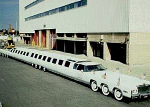 The World's Biggest Limo: 100ft Long with 26 wheels!  - Absolute Limos